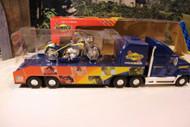 SUNOCO - 2006- TRANSPORTER W/RACING BIKE - BENT BOX -- LIGHTS - NEW - B1