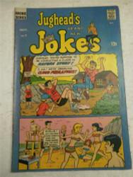 ARCHIE SERIES COMIC- JUGHEAD'S BRAND NEW JOKES NO. 7- SEPT. 1968- GOOD- BB9