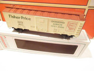 CROWN MODEL PRODUCTS - FISHER PRICE DIAMOND JUBILEE BOXCAR - 0/027- NEW- B16