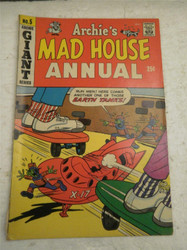 ARCHIE SERIES COMIC- ARCHIE'S MAD HOUSE- ANNUAL NO. 5- 1967-68- GOOD- BB9
