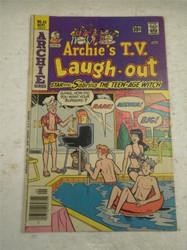 ARCHIE SERIES COMIC- ARCHIE'S T.V. LAUGH-OUT NO. 43- SEPT. 1976- GOOD- BB9