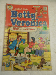 ARCHIE SERIES COMIC- BETTY AND VERONICA NO. 212- AUG. 1973- GOOD- BB9