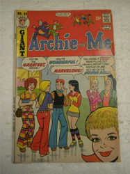ARCHIE SERIES COMIC- ARCHIE AND ME NO.59- SEPT. 1973- GOOD- BB9