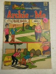 ARCHIE SERIES COMIC- ARCHIE AND ME NO. 30- AUG. 1969- GOOD- BB9