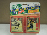 HOCKEY CARDS SCORE 1991- CANADIAN ENGLISH SERIES 1- BRIAN BENNING- NEW- L136