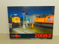 MTH CATALOG 2008 VOLUME II- RAILKING AND PREMIER O GAUGE TRAINS- NEW
