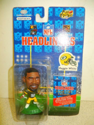 NFL HEADLINERS- REGGIE WHITE- GREENBAY PACKERS- NEW ON THE CARD- L150