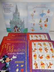 6 DISNEY ACTIVITY BOOKS LOADED WITH ACTIVITIES NEW GREAT FOR PARTY FAVORS L183