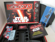 HASBRO MONOPOLY STAR WARS BOARD GAME HASBRO 2015 MISSING ONLY 1 BASE