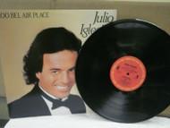 RECORD ALBUM- JULIO IGLESIAS- 1100 BEL AIR PLACE- 33 1/3 RPM- USED- L155