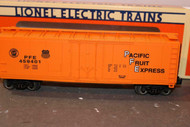LIONEL VAULT -17306- PACIFIC FRUIT EXPRESS STANDARD 'O' REEFER - NEW- B19
