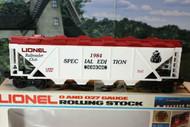 LIONEL 0784 - 1984 LIONEL RAILROAD CLUB HOPPER - 0/027 - NEW- B11