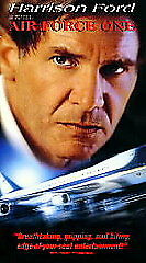AIR FORCE ONE HARRISON FORD VHS VIDEO TAPE 1997 L42F