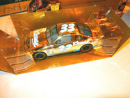 RACING CHAMPIONS 1/24TH- NASCAR DIECAST KLEENEX #33 RACE CAR- NEW- W53