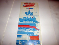 AMTRAK SCHEDULE - NOV. 30 1975 - EAST-MIDWEST SCHEDULES- EXC.- H32