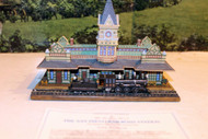 DANBURY MINT- HISTORIC RAILROAD STATIONS- SAN DIEGO STATION - BOXED- W62