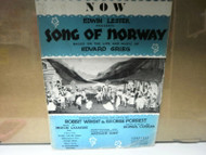 NOW SONG OF NORWAY WRIGHT & FORREST CHAPPELL & CO., INC. SHEET MUSIC GOOD