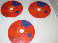 COMPUTER- THREE GAME DISCS FROM BRAIN FOOD GAMES FOR WINDOWS- M35