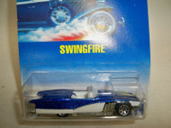 1991 MATTEL 4312 SWINGFIRE DIE CAST CAR COLLECTOR # 214 H27