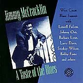 A Taste of the Blues by Jimmy McCracklin CD Jul-1994 Bullseye Blues Case Cracked