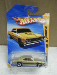 HOT WHEELS- '67 CHEVELLE SS 396- GOLD- 2010 NEW MODLES- NEW ON CARD- L149