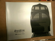 MTH ELECTRIC TRAINS RAILKING 2000 VOLUME 3 CATALOG