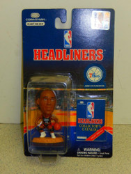 NBA HEADLINERS- 76ERS- JERRY STACKHOUSE- (BLACK JERSEY) NEW BASKETBALL L150