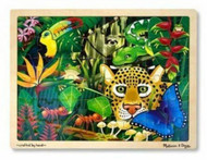 NEW 3803 MELISSA & DOUG RAINFOREST JIGSAW PUZZLE