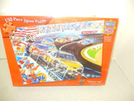 VINTAGE TOY-MASTER PIECES- VICTORY RUN (550 PCS) JIGSAW PUZZLE- NEW -