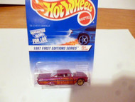 DIECAST HOT WHEELS- 1997 FIRST EDITIONS SERIES- '59 CHEVY IMPALA- NEW- L149