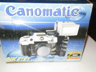 VINTAGE CAMERA - CANOMATIC NK 2121 35MM CAMERA- RECOMMANDED- BOXED- G14