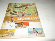 LIONEL POST-WAR 1961 CATALOG - FAIR CONDITION - B13