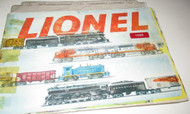 LIONEL POST-WAR 1953 COLOR CATALOG FAIR- W/TAPED BINDING - B12