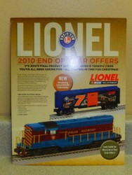 LIONEL 2010 END OF YEAR OFFERS- NEW- W22