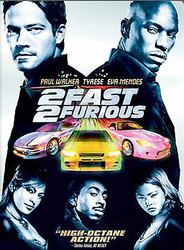 2 FAST 2 FURIOUS DVD PAUL WALKER TYRESE EVA MENDES WIDESCREEN L53G