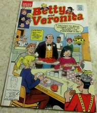 ARCHIE SERIES COMIC - BETTY AND VERONICA - 1991- FAIR - L96