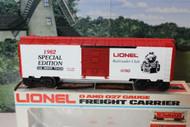 LIONEL 0780 - 1982 LIONEL RAILROAD CLUB BOXCAR - 0/027 - NEW- B11