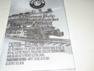 LIONEL- CHRISTMAS STORY READY TO RUN TRAIN SET OWNER'S MANUAL - NEW- B11