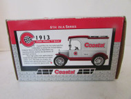 1998 ERTL DIECAST BANK 19252 1913 FORD MODEL T BANK COASTAL 6TH IN SERIES S1