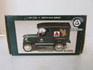 1994 ERTL B678 1923 CHEVY DELIVERY VAN BANK GREEN CITGO NIB S1