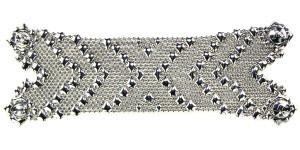 Silver Mesh Bracelet , Style B105