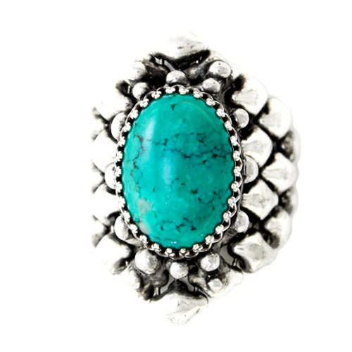 Ring Style RTR3 with Turquoise
