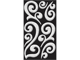 Jolees 426213 Bling Stickers-Silver Puffy Flourish
