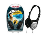 maxell Lightweight Noise Cancelling Foldable Headphones