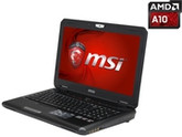 "MSI GX Series GX60 Destroyer-280 Gaming Laptop AMD A10-5750M 2.5GHz 15.6"" Windows 8.1 64-Bit"