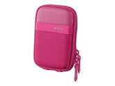 Sony LCS-TWP General Purpose Case for Cyber-shot T and W Series Cameras (Pink)