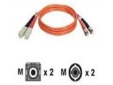 Tripp Lite N304-05M Duplex Multimode 62.5/125 Fiber Optic Patch Cable SC/ST - 5M (16ft)