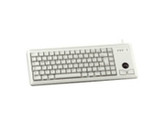 Cherry Ultraslim G84-4420 Keyboard - Cable - Light Gray -