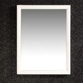 Urban Loft 20 Inch x 30 Inch White Vanity Décor Mirror