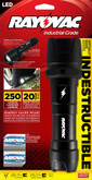 Indestructible 2-D Industrial Grade Flashlight
